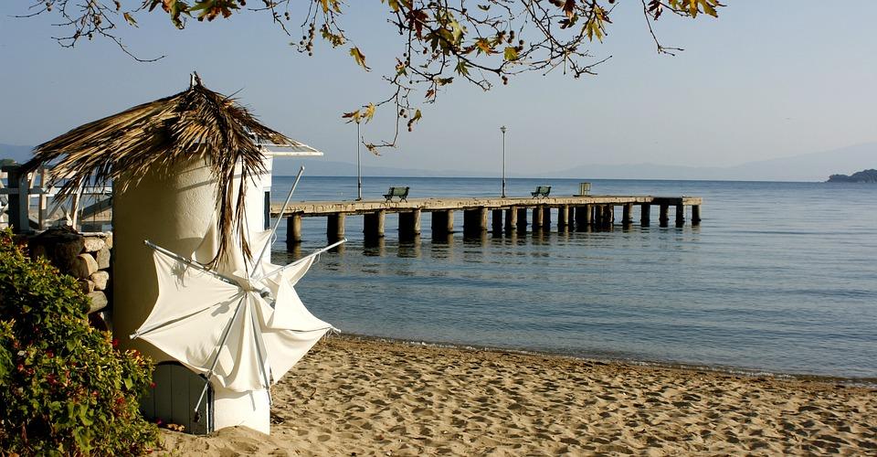 Sea, Landscape, Sand