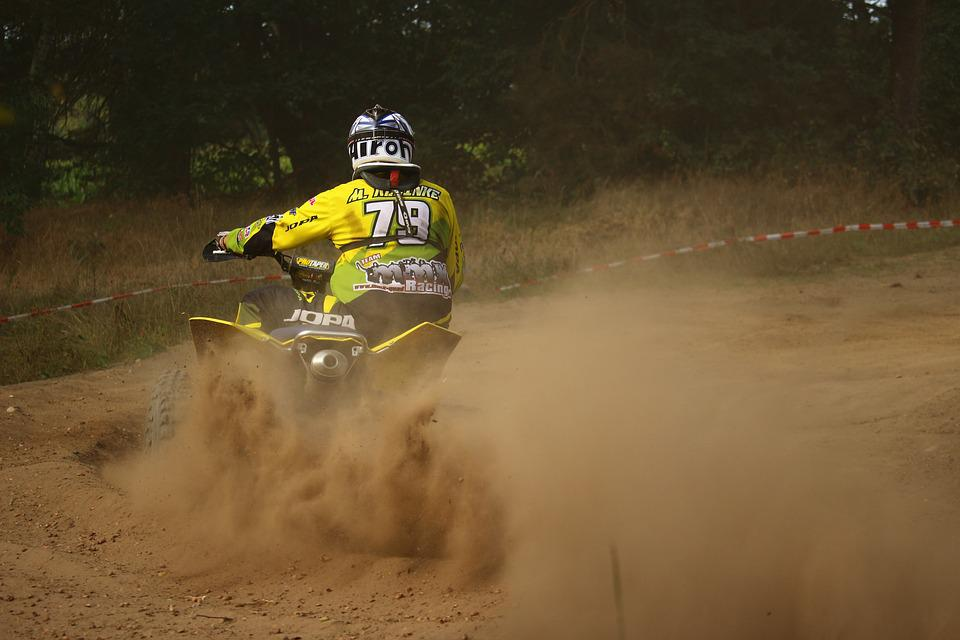 Motocross, Quad, Enduro, Race, Sand, Motorcycle, Cross