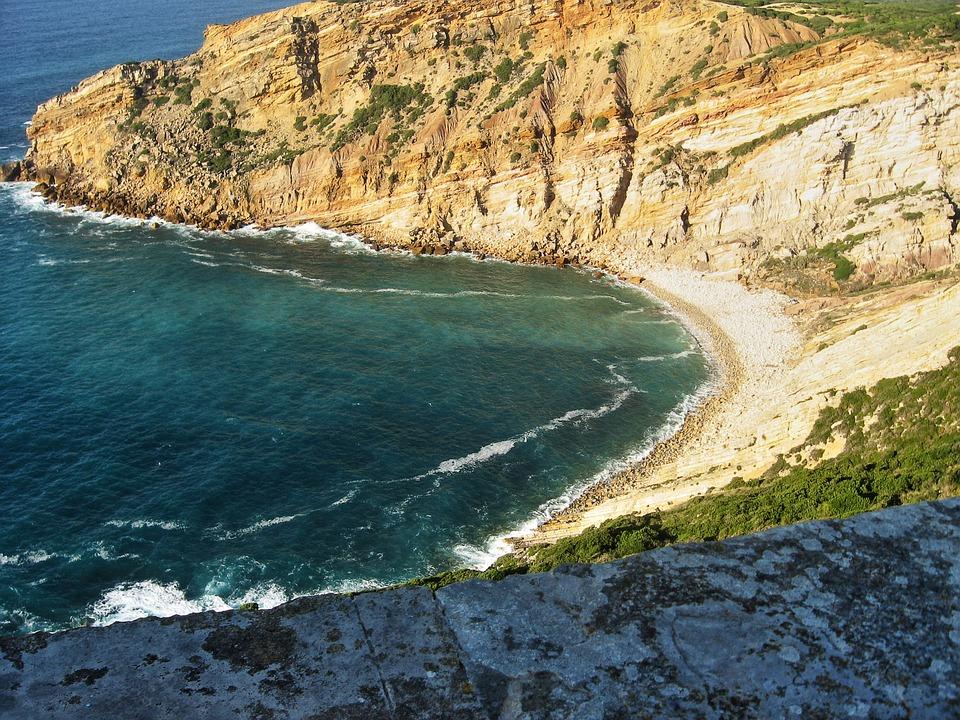 Beach, Sea, Portugal, Sand, Water, Nature, Europe