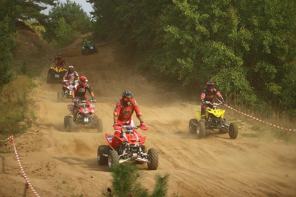 Quad, Enduro, Motocross, Cross, Sand, Motorsport, Race