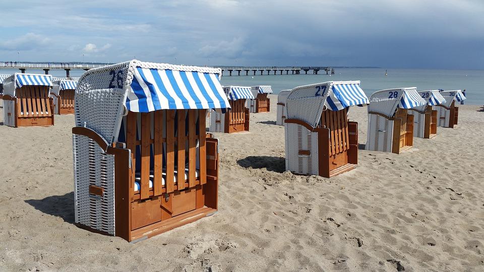Beach, Baltic Sea, Sea, Beach Chair, Sand