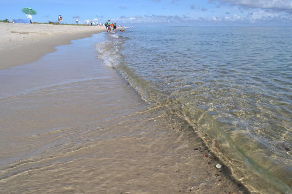 Sea, Beach, Water, Sand, Ocean, Coastline, Seascape