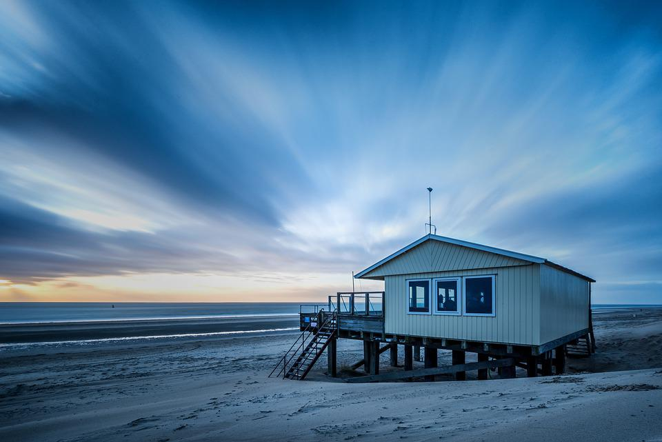 House, Beach, Coast, Sand, Coastline, Shore, Seashore