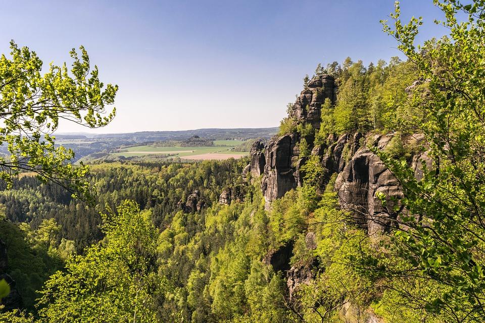 Saxon Switzerland, Mountains, Sand Stone