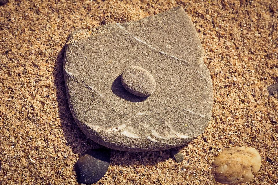 Beach, Stone, Sand, Pebble, Structures, Background