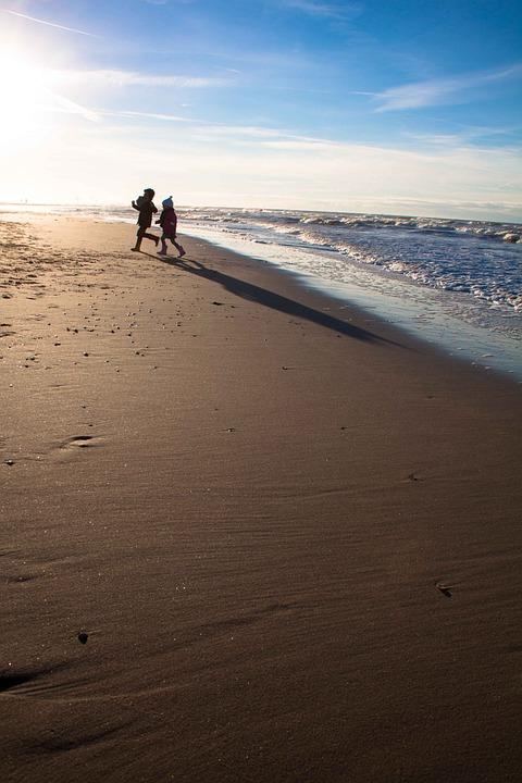 Beach, Lost, Sand, Ocean, Water, Seaside, Landscape