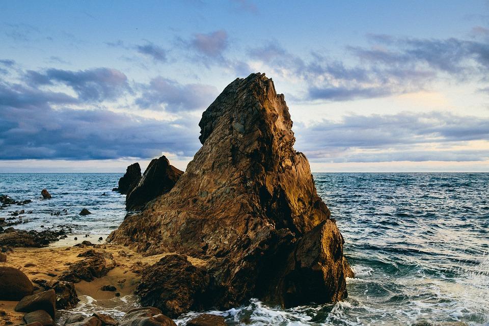 Nature, Island, Coast, Shore, Sand, Rocks, Water, Ocean