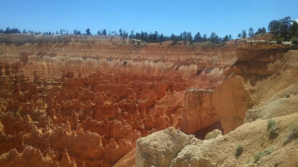 Bryce Canyon, Rock Formation, Erosion, Sandstone, Utah