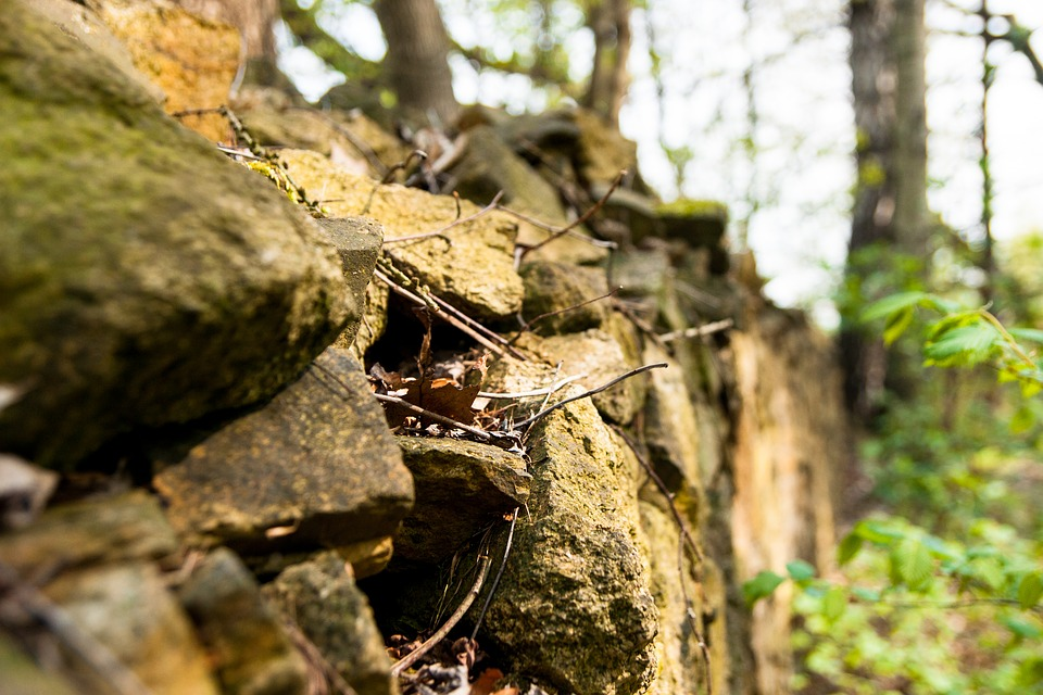 Stones, Stone Wall, Wall, Masonry, Sandstones