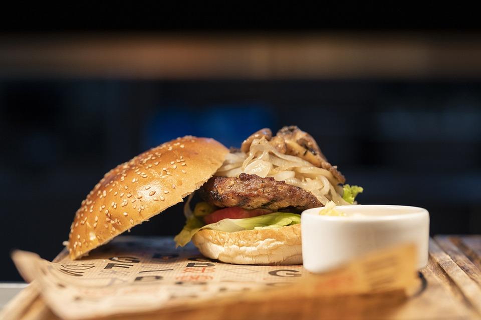 Hamburger, Burger, Sandwich, Cheeseburger, Calories