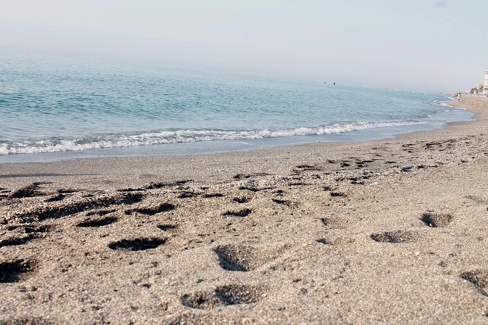 Beach, Sand, Sandy, Sea, Ocean, Vacation, Holiday