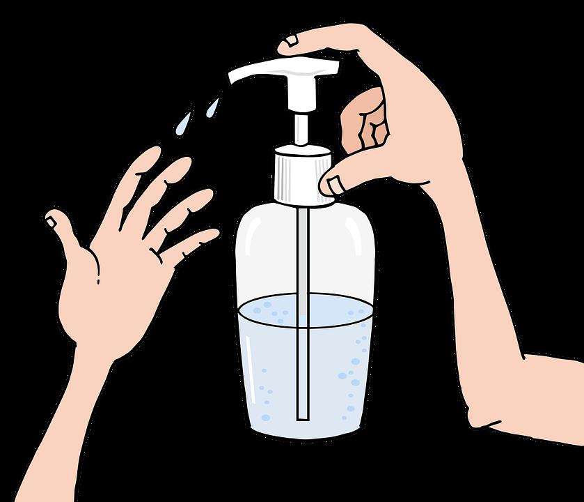 Hand Sanitizer, Sanitize, Sanitizer, Hygiene