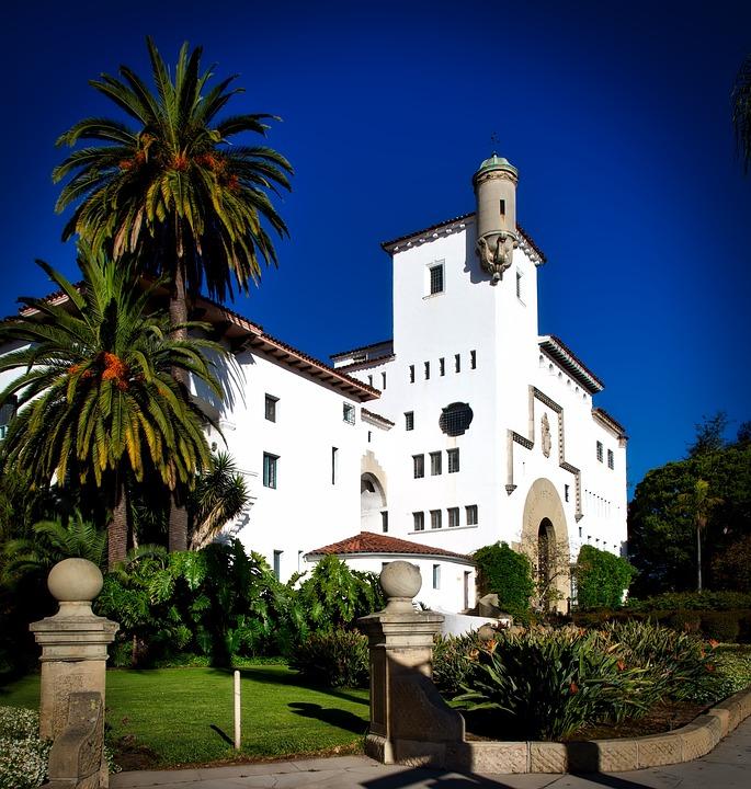 Santa Barbara, California, Courthouse, City, Cities
