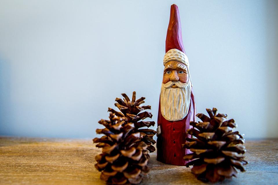 Christmas, Christmas Decor, Santa, Santa Claus