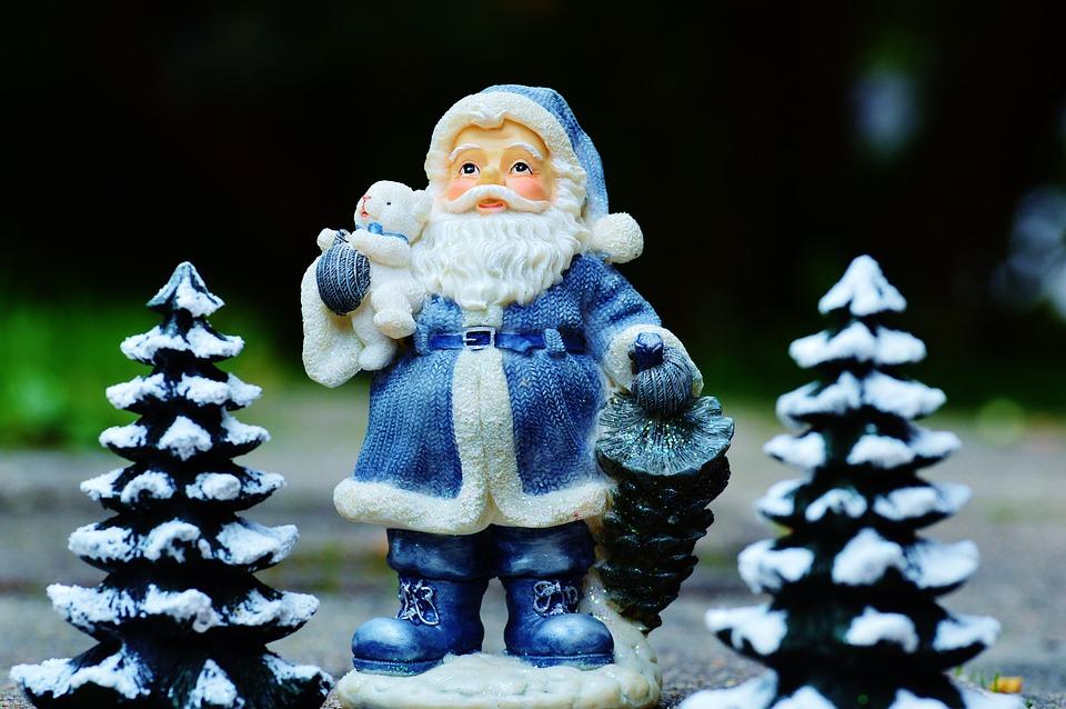 Christmas, Santa Claus, Figure, Decoration, Nicholas