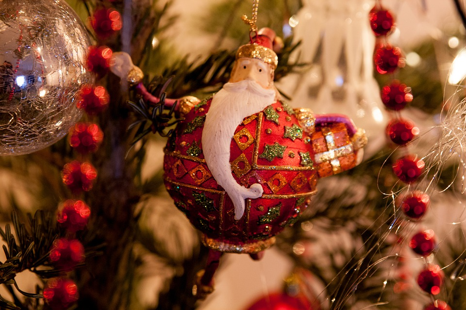 Ornament, Santa Claus, Christmas, Nicholas, Beard