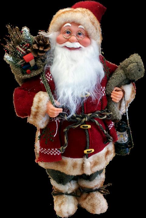 Santa Claus, Nicholas, Santa Clauses, Fig, Red