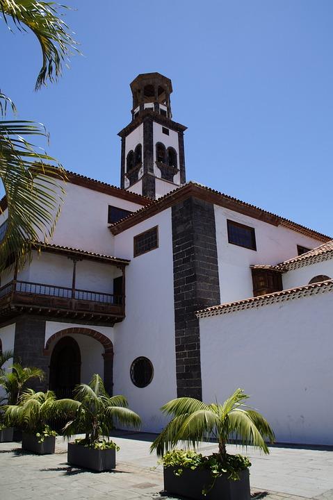 Church, Mediterranean, Santa Cruz, Tenerife, Old Town