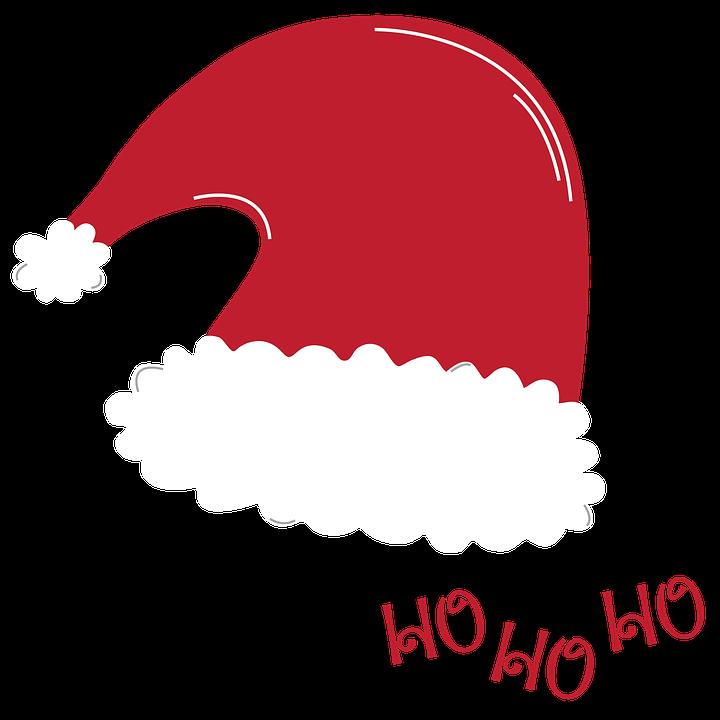Santa Hat, Santa, Christmas, Holiday, Hat, Celebration