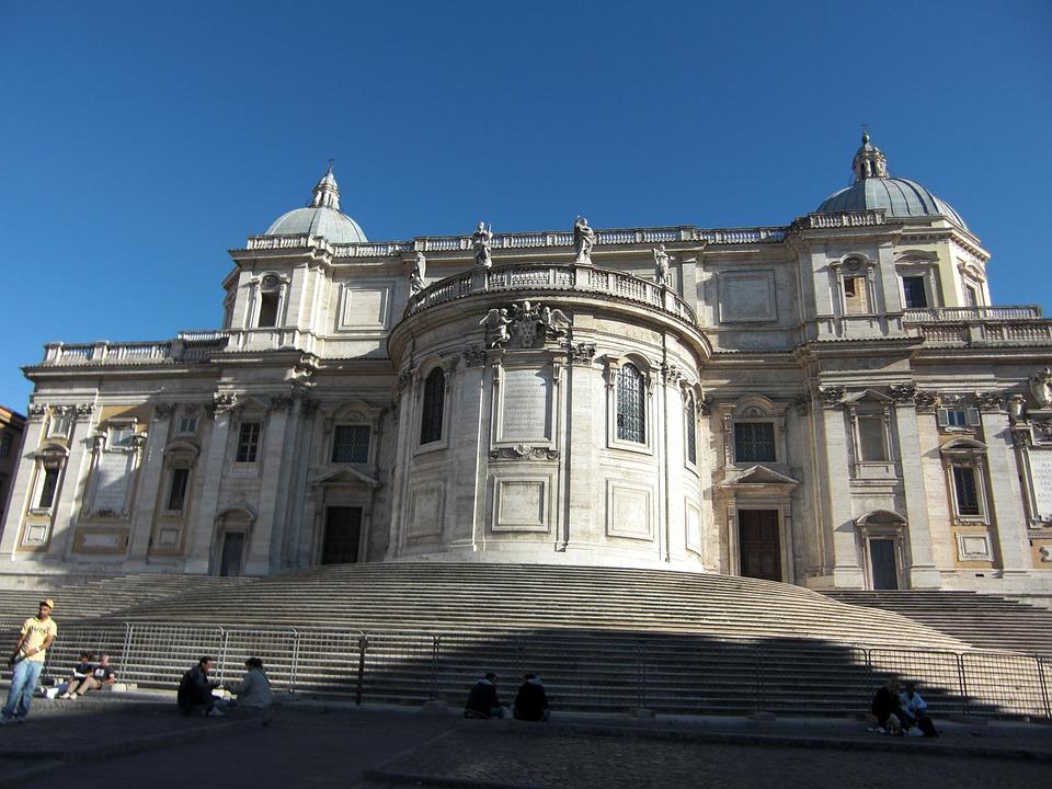 Santa Maria Maggiore, Rome, Italy, Building