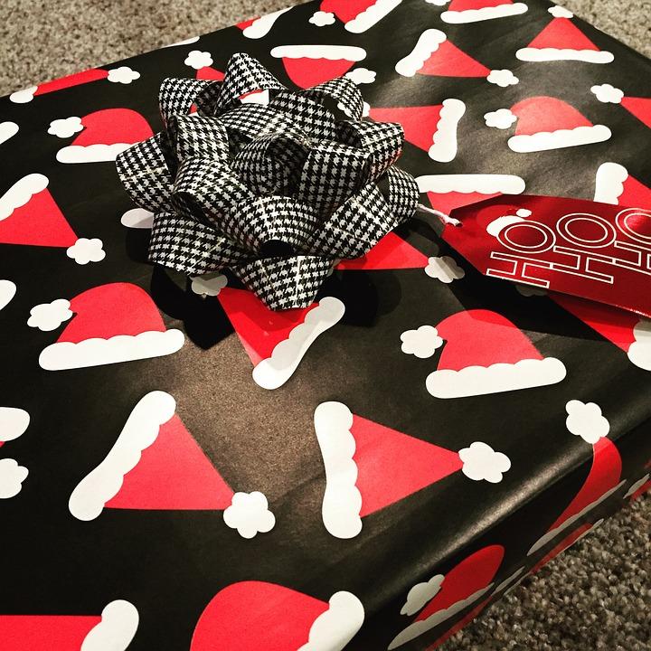 Gift, Present, Santa, Christmas, Package, Holiday