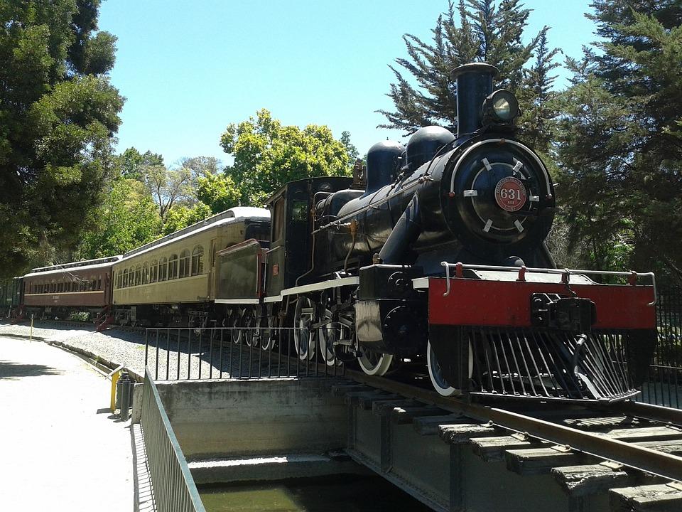 Railway Museum, Quinta Normal, Santiago