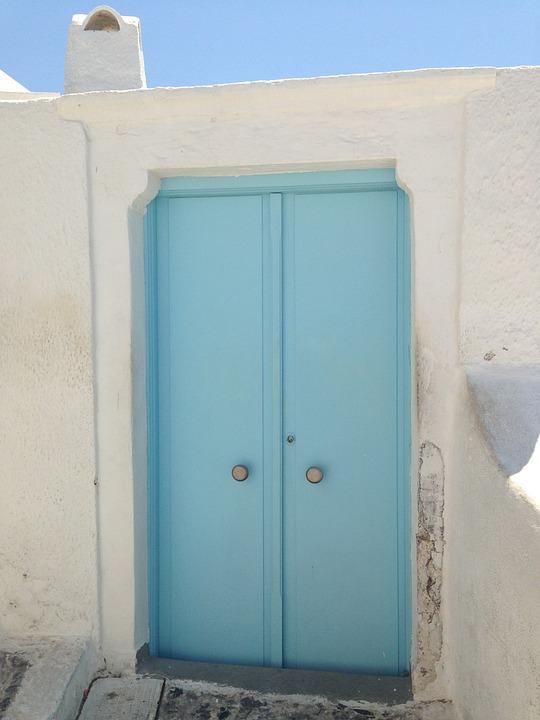 Door, Nice Door, Santorini