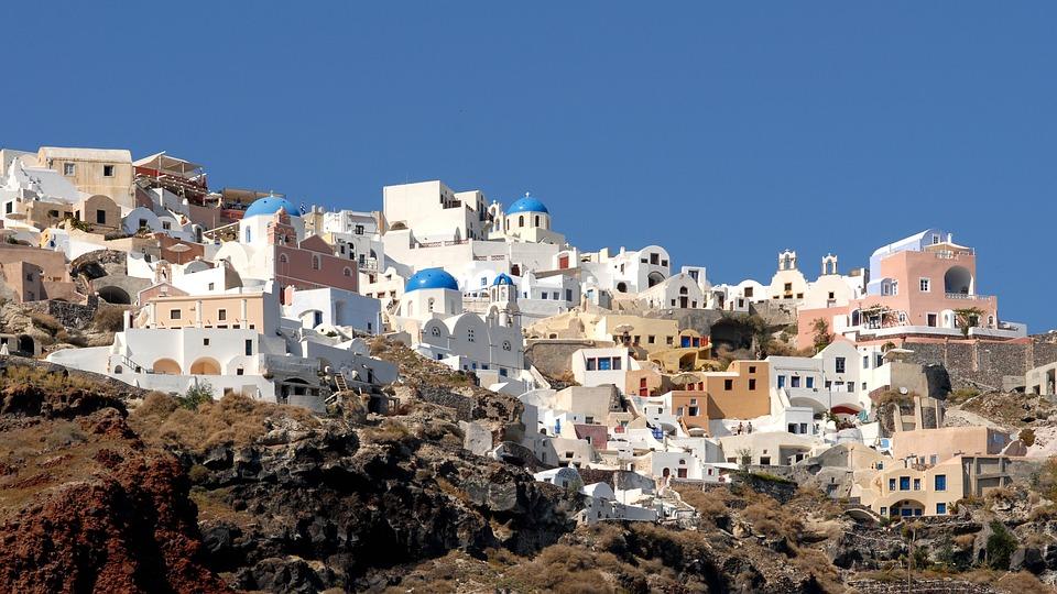 Santorini, Greece, Holiday, Homes