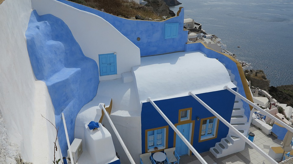 Santorini, Greece, White Houses