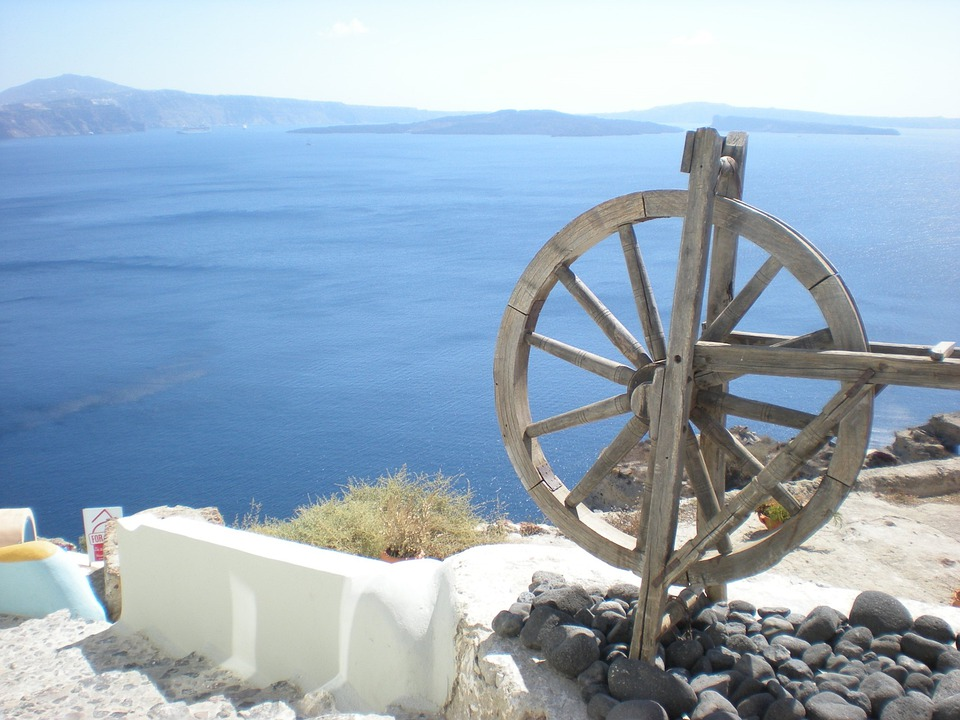 Santorini, Greek Island, Greece, Marine, Oia