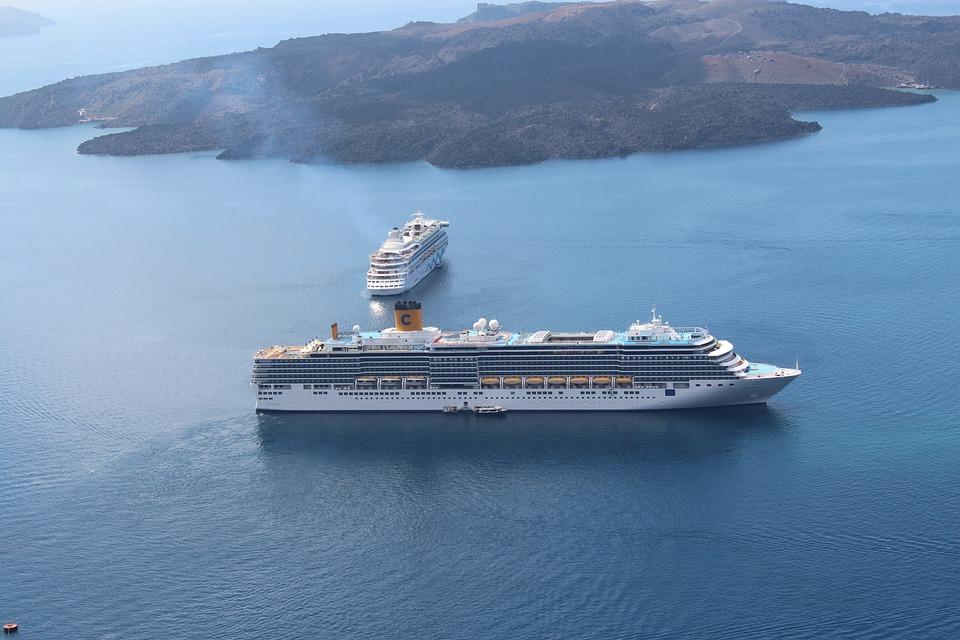 Summer Holiday, Cruise, Ships, Santorini