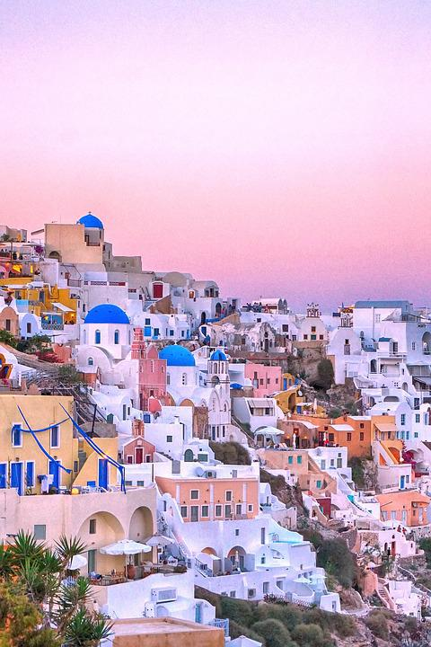 Travel, Greece, Santorini, Wallpapers