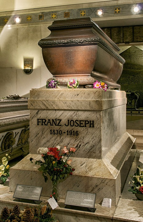 Vienna, Austria, Sarcophagus, Emperor, King