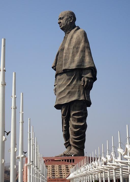 Statue, Patel, Sardar, Unity, Statue Of Unity, Tallest