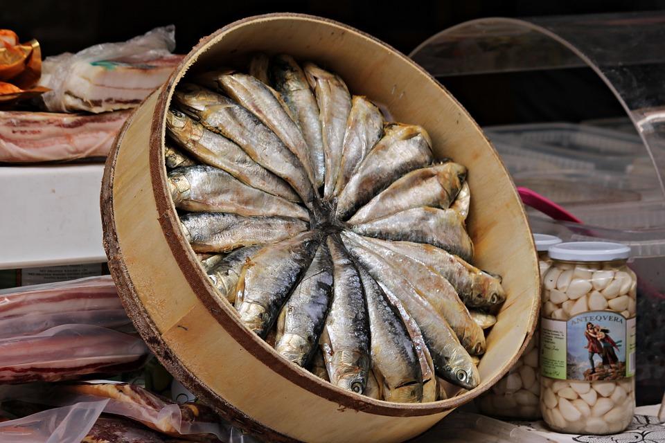 Sardines, Food, Fresh, Healthy, Eat, Fish, Gourmet