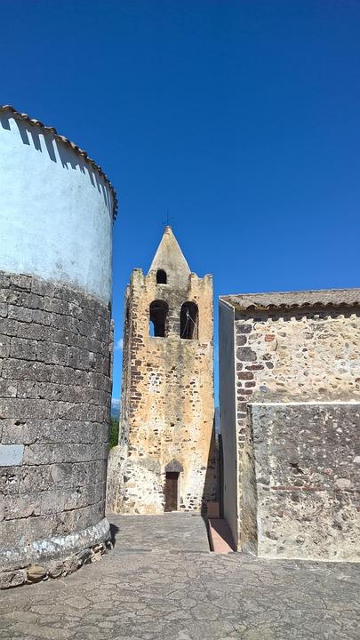Sardinia, Church, Religion, Italy, Galtelli