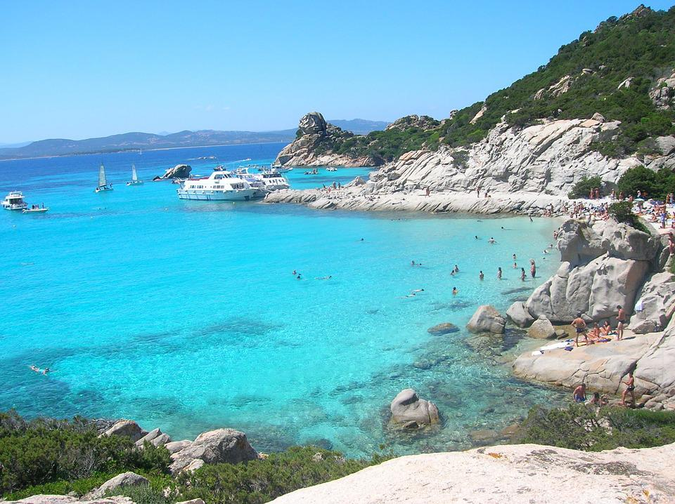 Sardinia, Spread, Sea