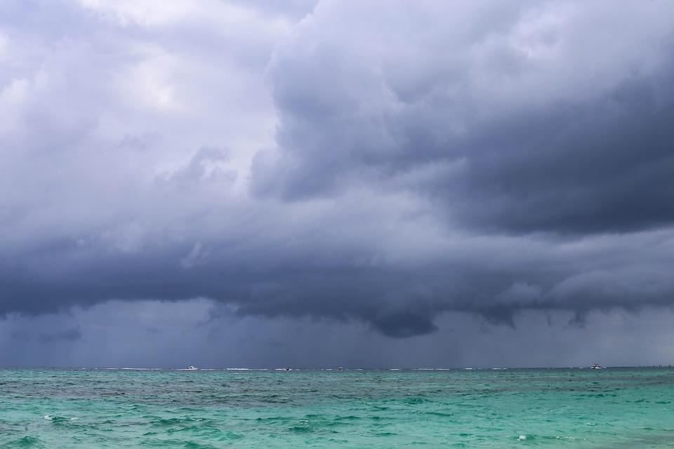 Storm, Clouds, Sea, Dominican Republic, Sargisova Sea