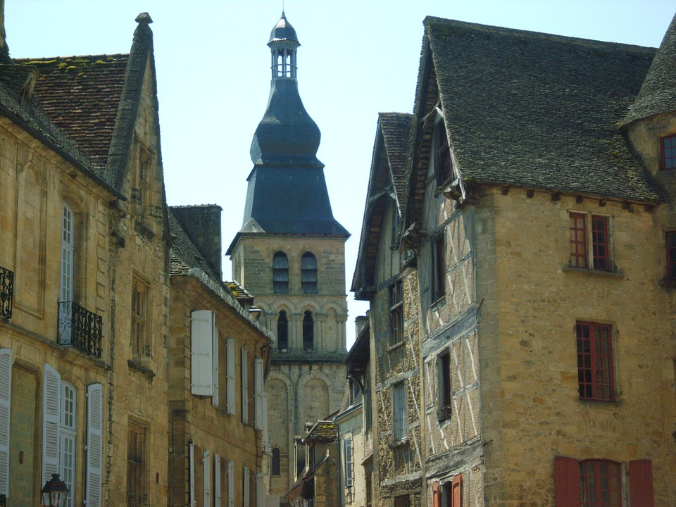France, Sarlat, Old Town