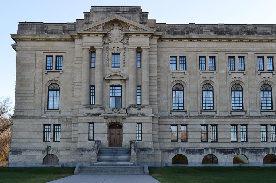 Building, Legislature, Regina, Saskatchewan