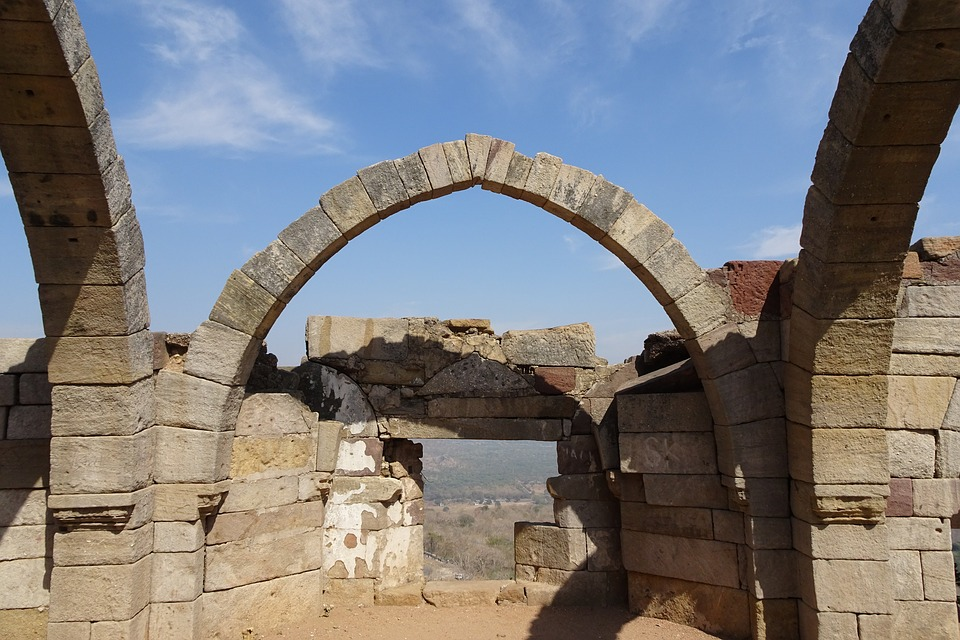 Sat Kaman, Seven Arcs, Champaner-pavagadh