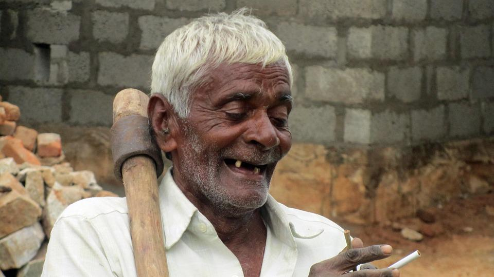 Old Man, Toothless, Satisfied, Indians