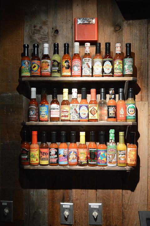 Sauce, Shelve, Restaurant