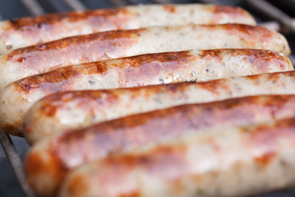Sausages, Sausage, Bratwurst, Barbecue, Grill, Heat