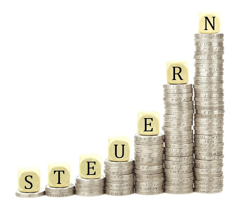 Taxes, Coins, Stack, Money, Finance, Save, Currency