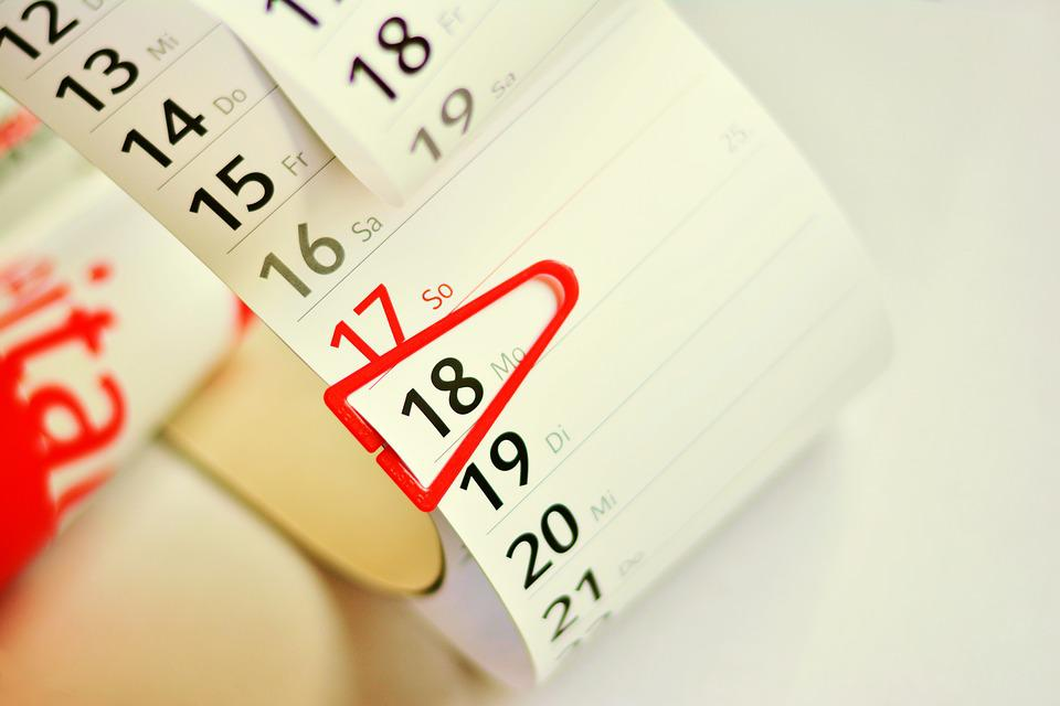 Calendar, Date, Dates, Planning, Save To List, Note