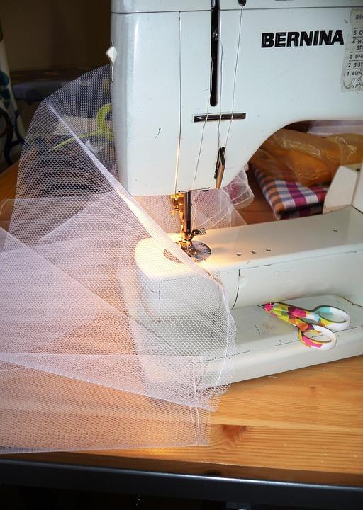 Sewing Machine, Creative, Sewing, Sax, Work, Seamstress