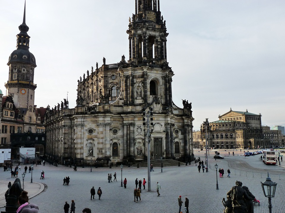 Castle Church, Dresden, City, Saxony