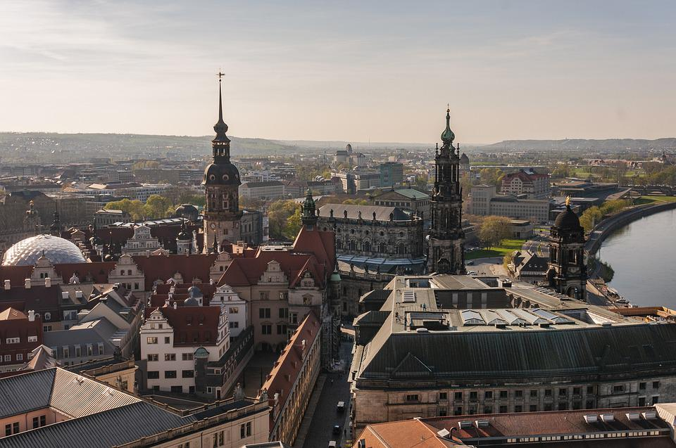 Dresden, Germany, Saxony, Architecture, Building
