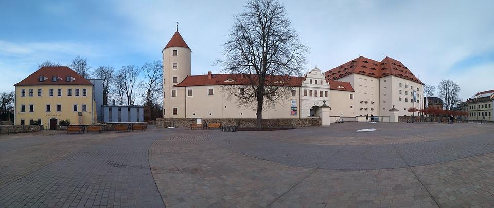 Castle Freudenstein, Kruger House, Freiberg, Saxony